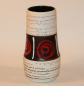 Preview: Scheurich Vase / 529-18 / 1960er Jahre / WGP West German Pottery / Keramik Design