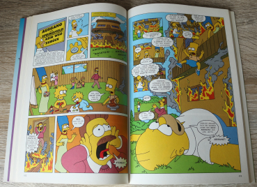 Simpsons - Sammelband - Simpsorama / Band 9 + 10 + 11 + 12 / 1990er / Comic