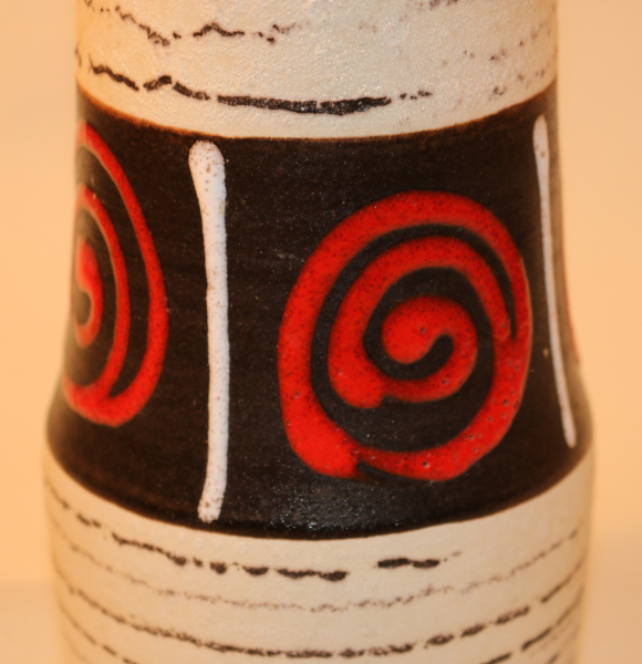 Scheurich Vase / 529-18 / 1960er Jahre / WGP West German Pottery / Keramik Design